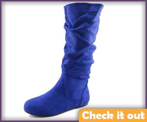 Blue Boots.