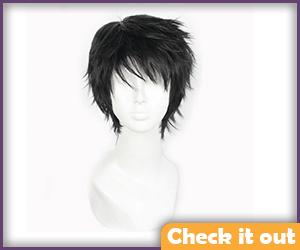 Black Short Wig.