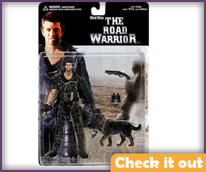 Mad Max and Dog Figures.