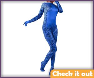 Mystique Costume Body Suit.