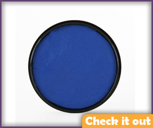 Dark Blue Face Paint.