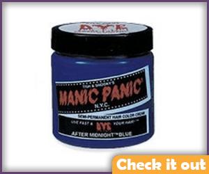 Dark Blue Hair Dye.