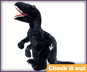 Blue Velociraptor Plush.