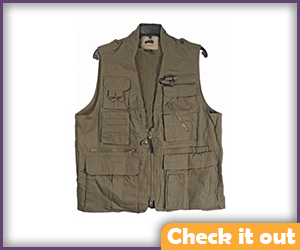 Brown Safari Vest.
