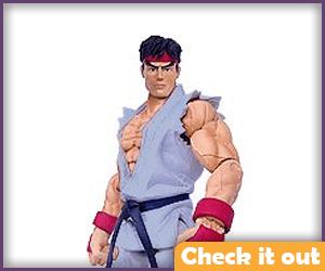 Ryu Gray Costume Figure.