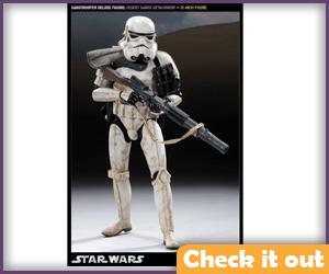 Sandtrooper Sideshow Figure.