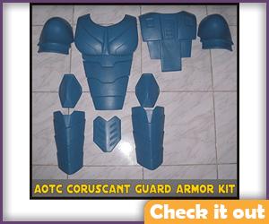 Senate Commando Costume AOTC Armor DIY.