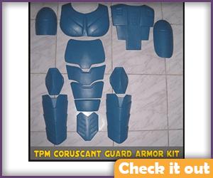 Senate Commando Costume Armor DIY.