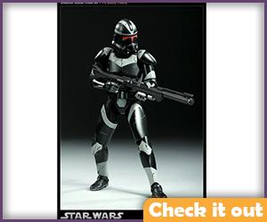 Clone Shadow Trooper Sideshow Figure.