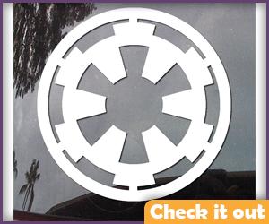 Imperial Logo Sticker (for helmet).
