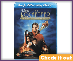 The Rocketeer DVD.