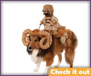 Tusken Raider and Bantha Pet Costume.