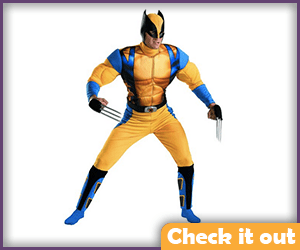 Wolverine Costume Adult Classic.