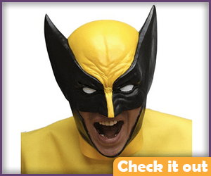 White Eye Wolverine Mask.