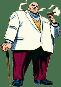 Comic Kingpin Reference Image.