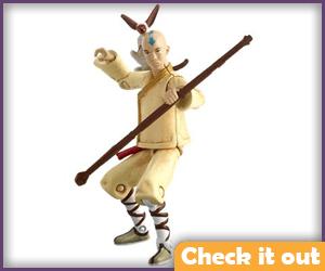 Aang Movie Figure.