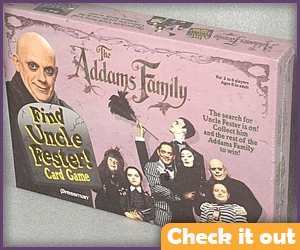 Uncle Fester Card Game.