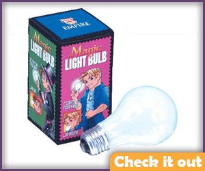 Magic Light-Up Lightbulb.