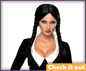 Black Braided Wig.