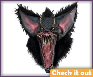 Man-Bat Costume Angry Mask.