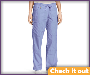 Blue Scrub Pants.
