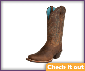 Brown Cowgirl Boots.