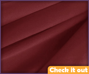 Maroon Fabric (for cape).