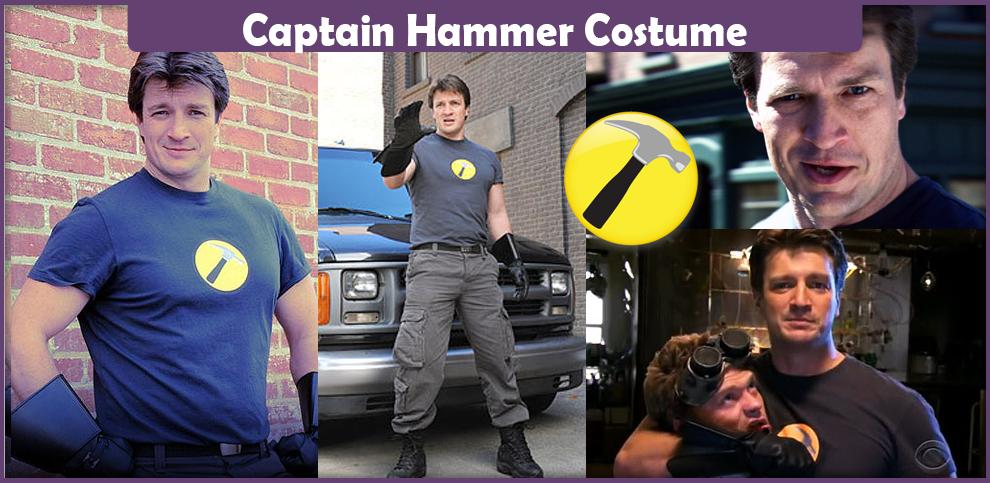 Captain Hammer Costume