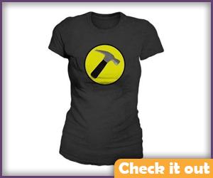Captain Hammer Costume Women's Shirt.