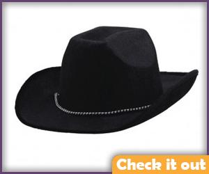 Black Cowboy Hat.