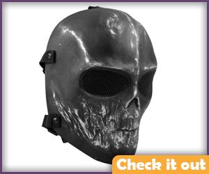 Black Plane Mask.