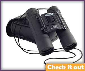 Binoculars with Neck Strap.
