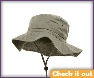 Dale Horvath Costume Beige Fishing Hat.