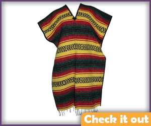 Mexican Style Poncho.