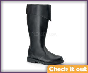 Black Pirate Boots.
