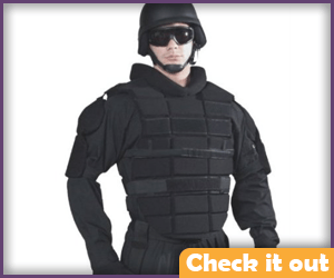 Riot Gear Chest Padding.