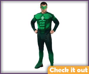 Hal Jordan Light-Up Muscle Chest Set.
