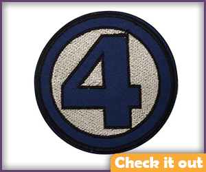 Fantastic Four Thick Border Patch.