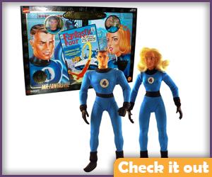 Fantastic Four Doll Set.