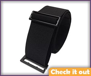 Black Elastic Belt.