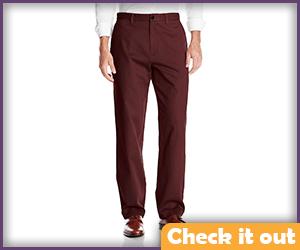 Maroon Dress Pants.