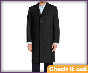 Wool Long Top Coat.