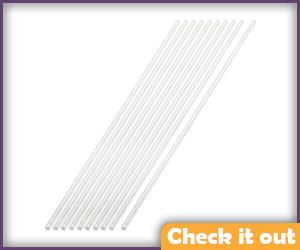 Lady Deathstrike 150mm x 2mm metal rods.