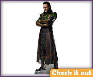 Loki Cardboard Cutout.