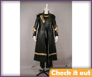 Loki Costume Coat Set.