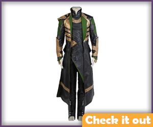 Loki Costume Cosplay Set.