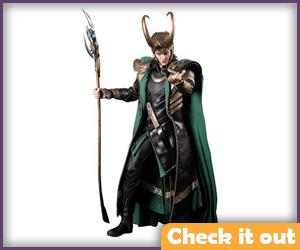 Loki Hot Toys Figure.