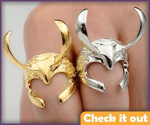 Loki Helmet Ring.