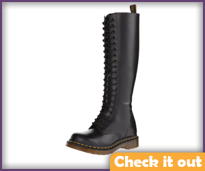 Black Tall Boots.