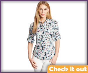 Floral Over Shirt.